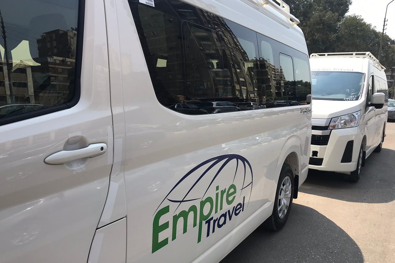 Empire Travel Bus HiAce Toyota